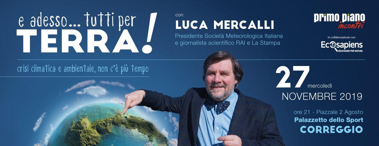 Evento con Luca Mercalli